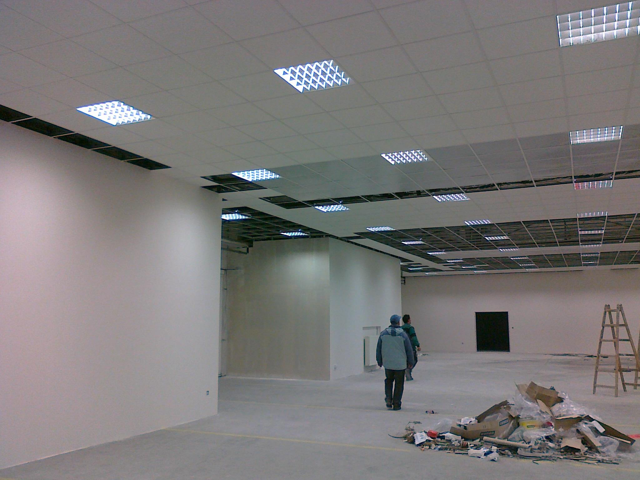 sadrokartóny a kazetové stropy,Rožňavská ul. Bratislava
